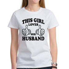 This Gir Loves Her Husband T-Shirt