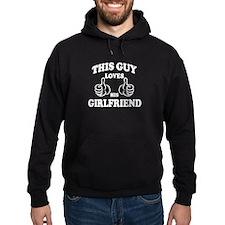 This Guy Loves His Girl Friend Hoodie