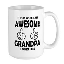 Awesome Grandpa Looks Like Mugs