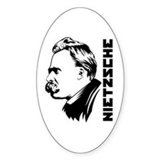 Strk3 Nietzsche Oval Decal