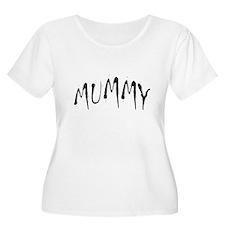 Mummy Halloween Women Plus Size Scoop Neck T-Shirt