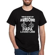 Awesome Papa Looks Like T-Shirt