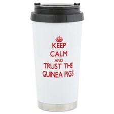 Keep calm and Trust the Guinea Pigs Travel Mug