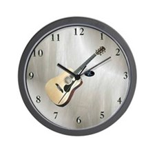 Acoustic Guitar 1 Wall Clock