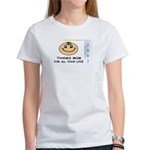 THANKS MOM FOR ALL YOUR LOVE Women's T-Shirt