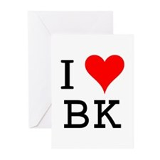 I Love BK Greeting Cards (Pk of 10)