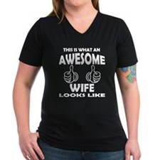Awesome Wife Looks Like T-Shirt