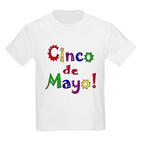 Cinco de Mayo Kids Light T-Shirt