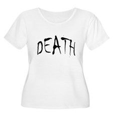Death Halloween Women Plus Size Scoop Neck T-Shirt