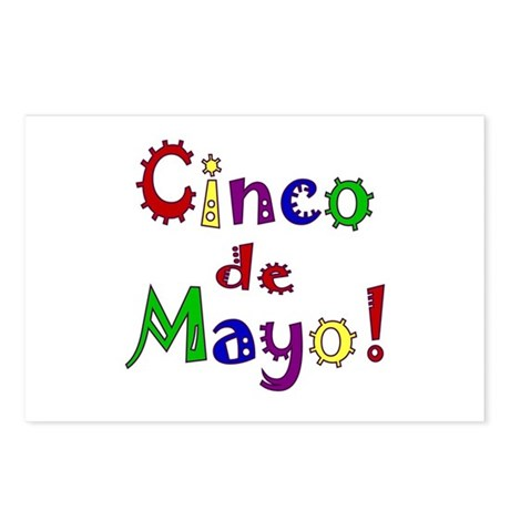 Cinco de Mayo Postcards (Package of 8)