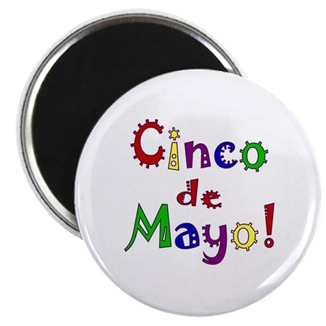 Cinco de Mayo 2.25&quot; Magnet (100 pack)