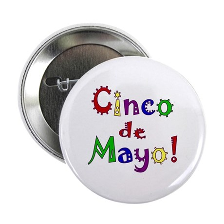 Cinco de Mayo 2.25&quot; Button (10 pack)