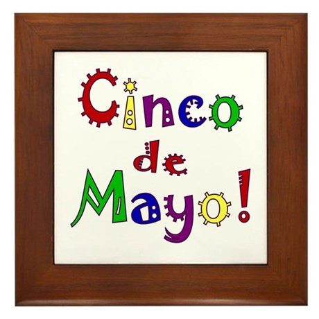 Cinco de Mayo Framed Tile