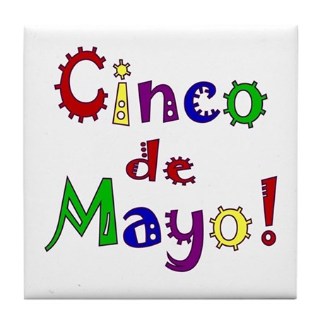 Cinco de Mayo Tile Coaster