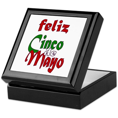 Feliz Cinco de Mayo Keepsake Box