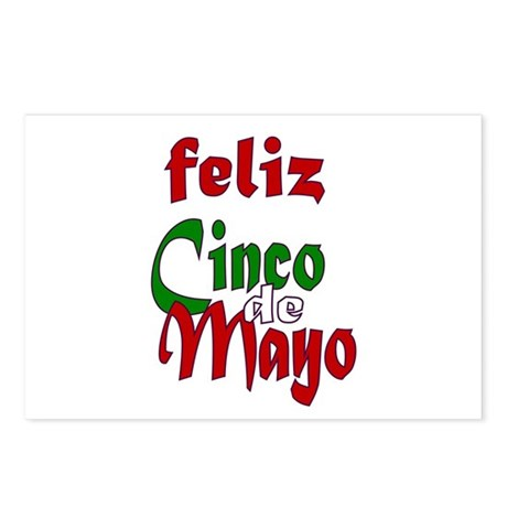 Feliz Cinco de Mayo Postcards (Package of 8)