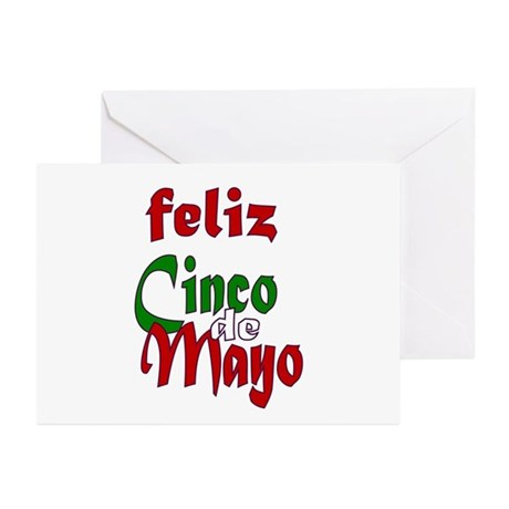Feliz Cinco de Mayo Greeting Cards (Pk of 10)