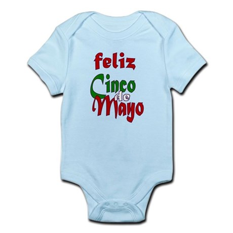 Feliz Cinco de Mayo Infant Bodysuit