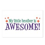 My Little Brother is Awesome Postcards (Package of