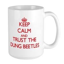 Keep calm and Trust the Dung Beetles Mugs