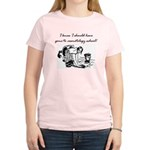 Cosmetology School Women's Light T-Shirt