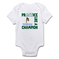 PRACTICE DIVING Infant Bodysuit