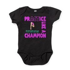 PRACTICE DIVING Baby Bodysuit
