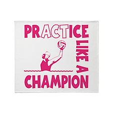 PRACTICE WATERPOLO Throw Blanket