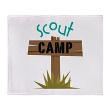 Scout CAMP Throw Blanket