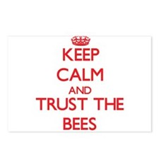 Keep calm and Trust the Bees Postcards (Package of