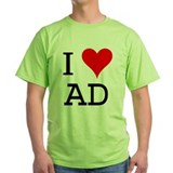 I Love AD T-Shirt