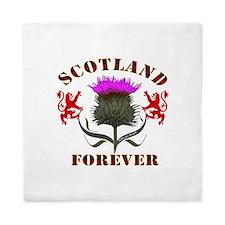 Scotland Forever Thistle Queen Duvet