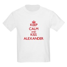 Keep Calm and Kiss Alexander T-Shirt