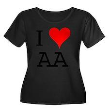 I Love AA T