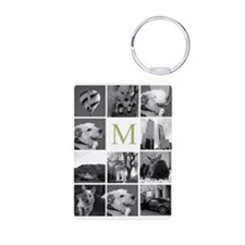 Monogram and Photoblock Keychains