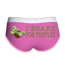 I Brake for Turtles Women's Boy Brief