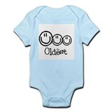 The Oldest (3) Infant Bodysuit