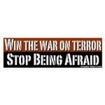 Win the War on Terror Bumper Sticker