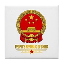 China COA Tile Coaster