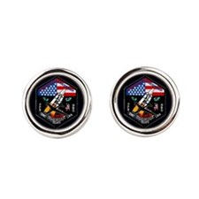 NROL-19 Launch Team Round Cufflinks