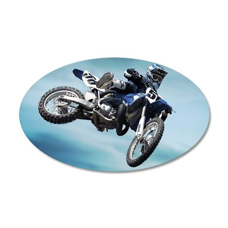 Dirt Bike Jump Wall Decal