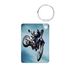 Dirt Bike Jump Keychains
