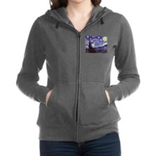 Van Gogh Starry Night Women's Zip Hoodie