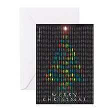 Funny Christmas tree Greeting Cards (Pk of 20)