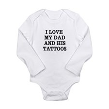Funny Tattoo Long Sleeve Infant Bodysuit