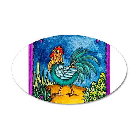 Rooster 2 Wall Decal