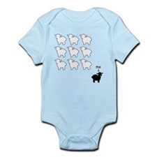 Black Sheep Infant Body Suit