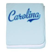 Carolina Blue baby blanket
