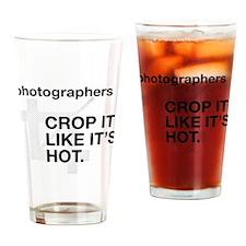 Photographers Crop It Drinking Glass
