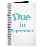 Blue Due in September Journal